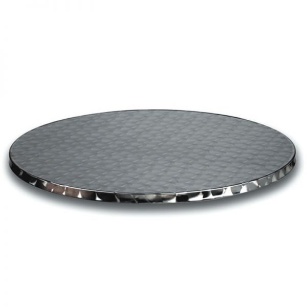 Zaponte Stainless Steel Outdoor Round Table Top