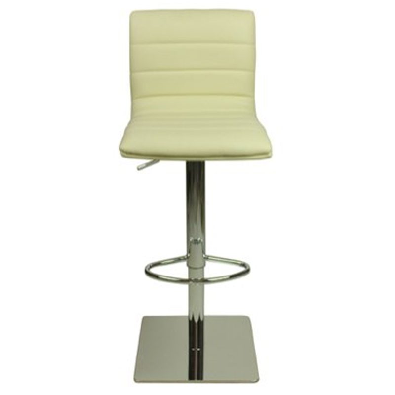 Deluxe Weighted Majorca Bar Stool - Cream