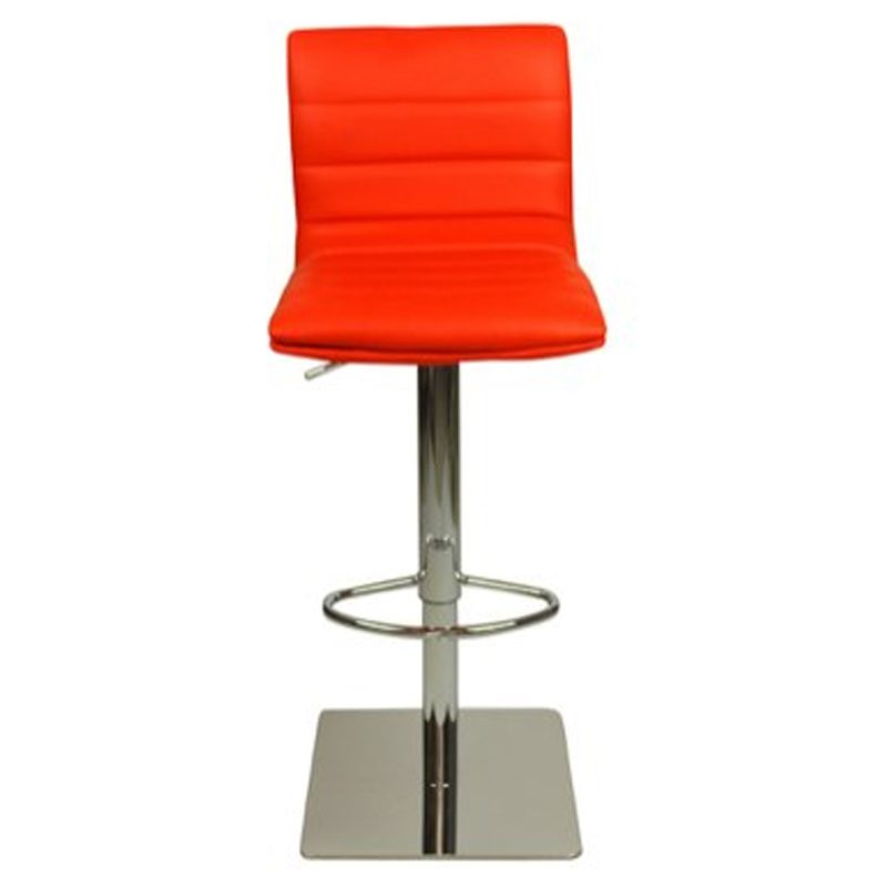 Deluxe Weighted Majorca Bar Stool - Red