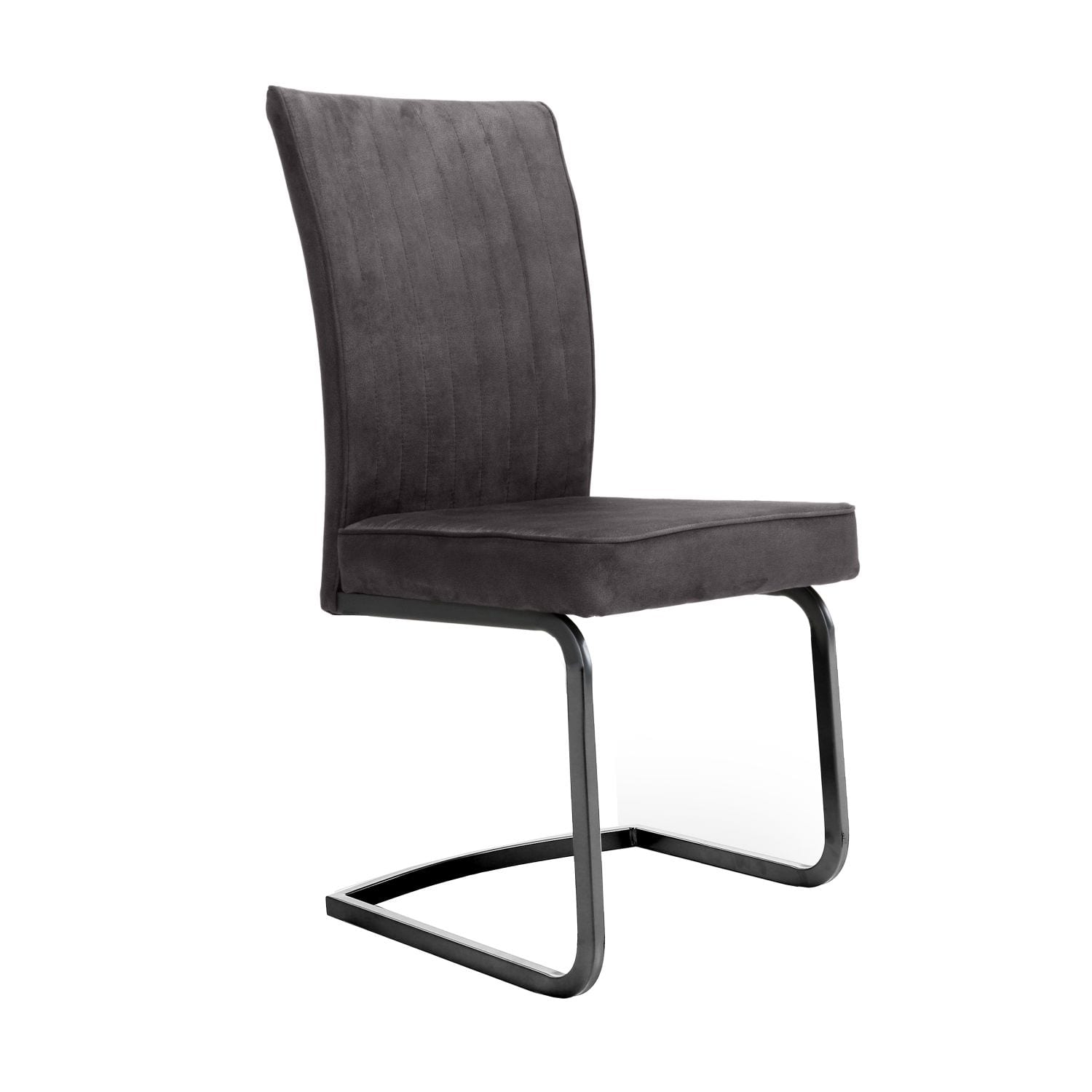 Merlin Cantilever Grey Chair