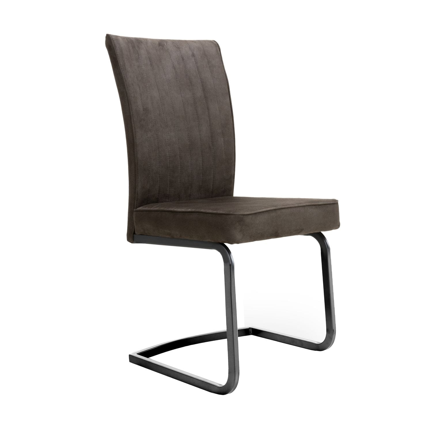 Merlin Cantilever Brown Chair