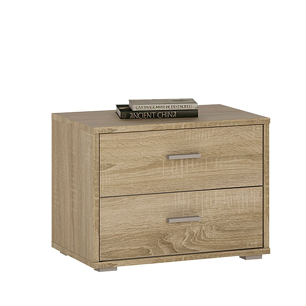 Yours Somama Oak 2 Drawer Low Chest
