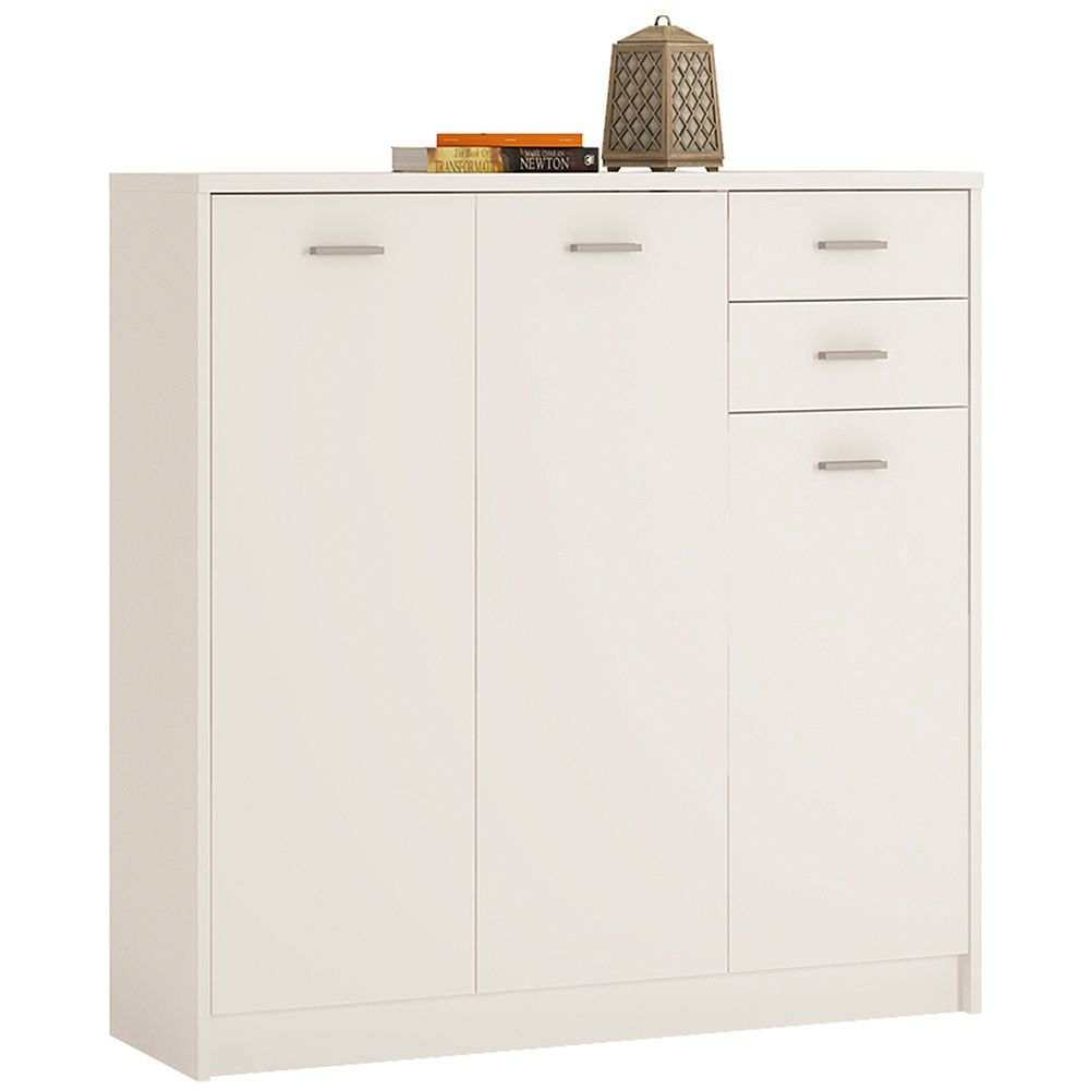 Yours Tall 3 Door 2 Drawer Cabinet