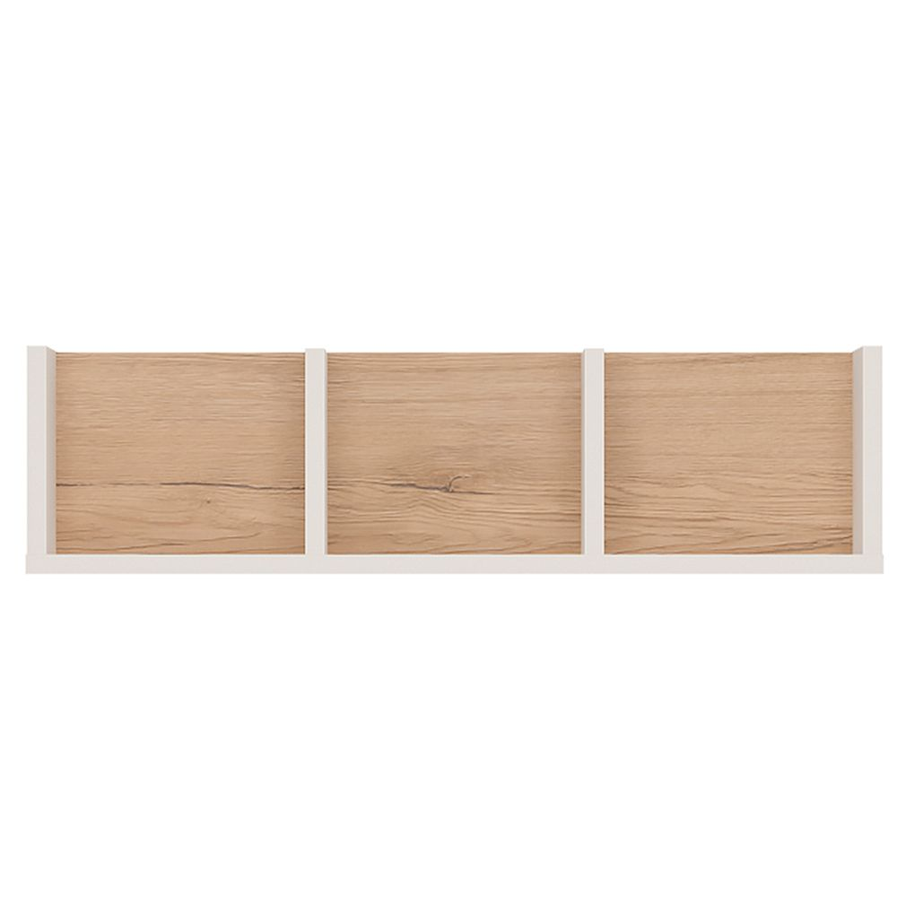 Kiddie 70cm Sectioned Wall Shelf