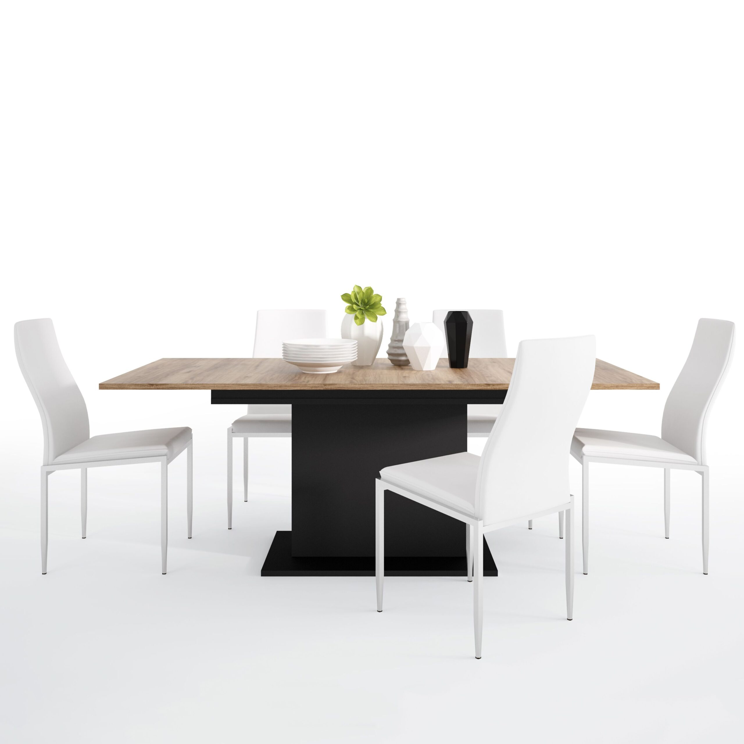 Yolo Set Yolo Extending Table 6 Lillie High Chair White.