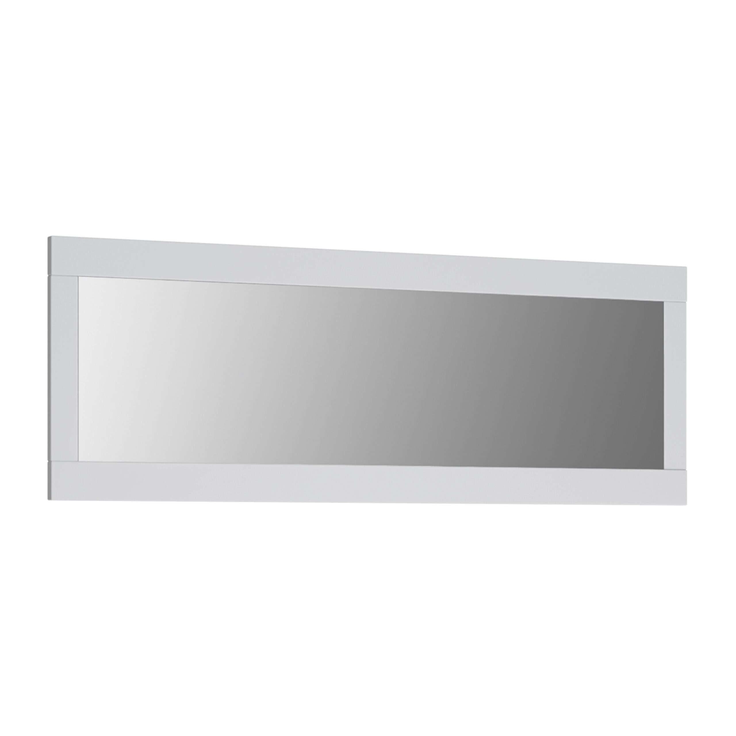 Veen Rectangular Mirror With Wite Frame