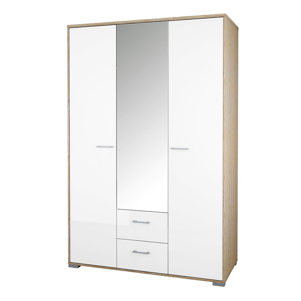 Solone Bedroom Wardrobe - White