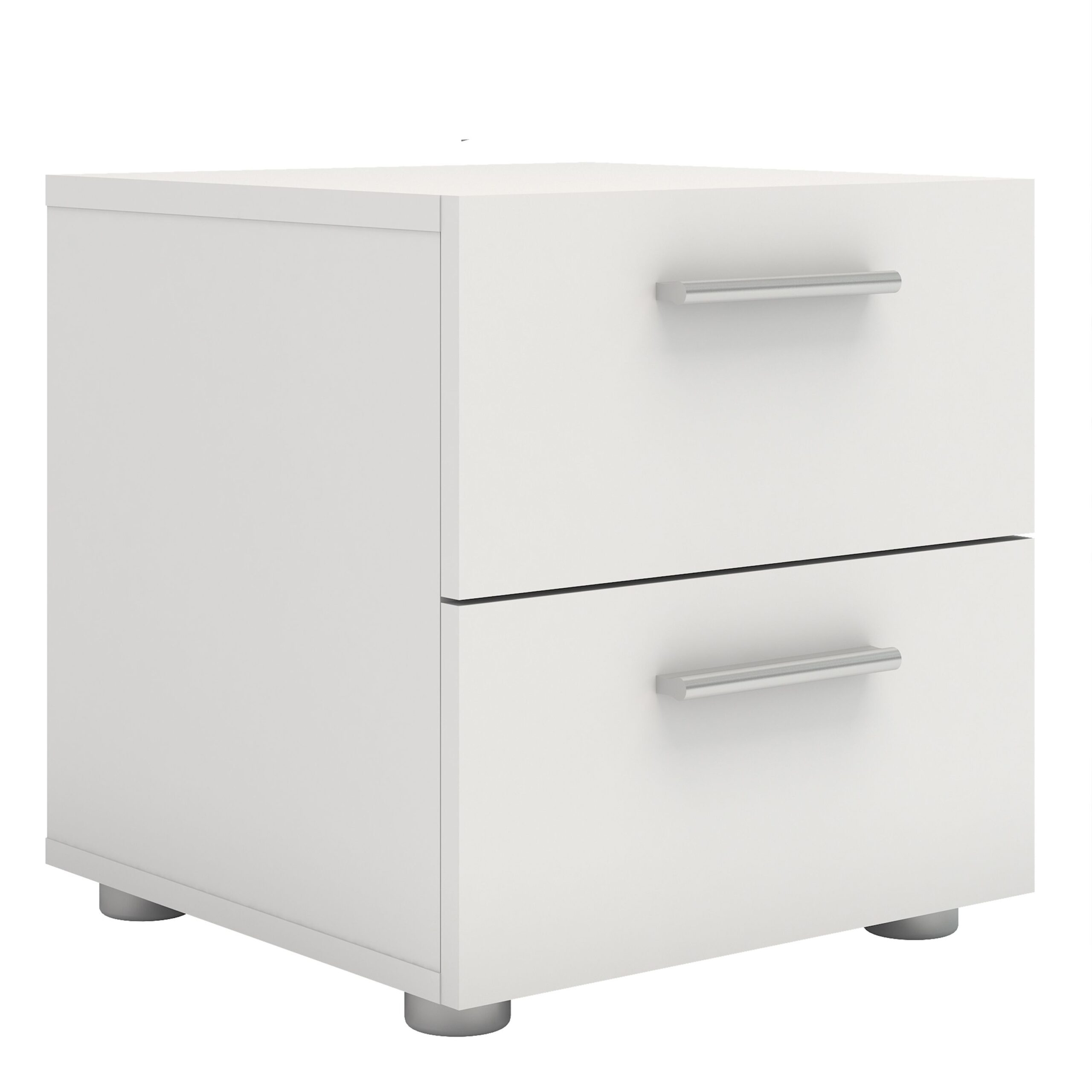 Peepo Bedside 2 Drawers in White
