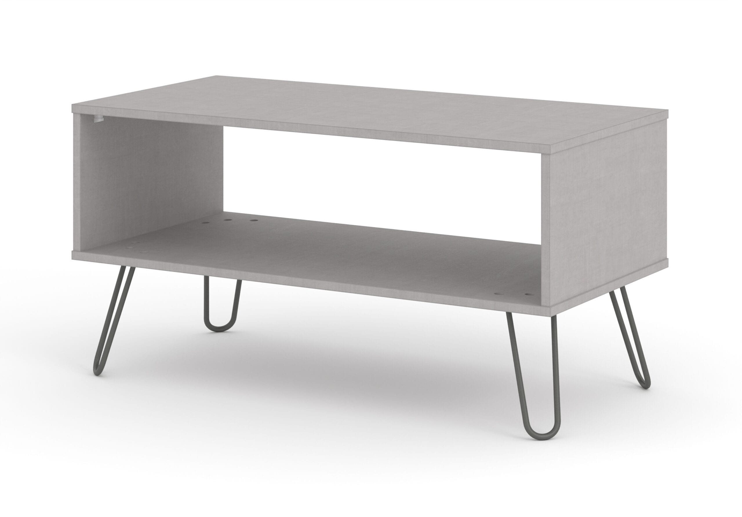 Augustine Grey Open Coffee Table