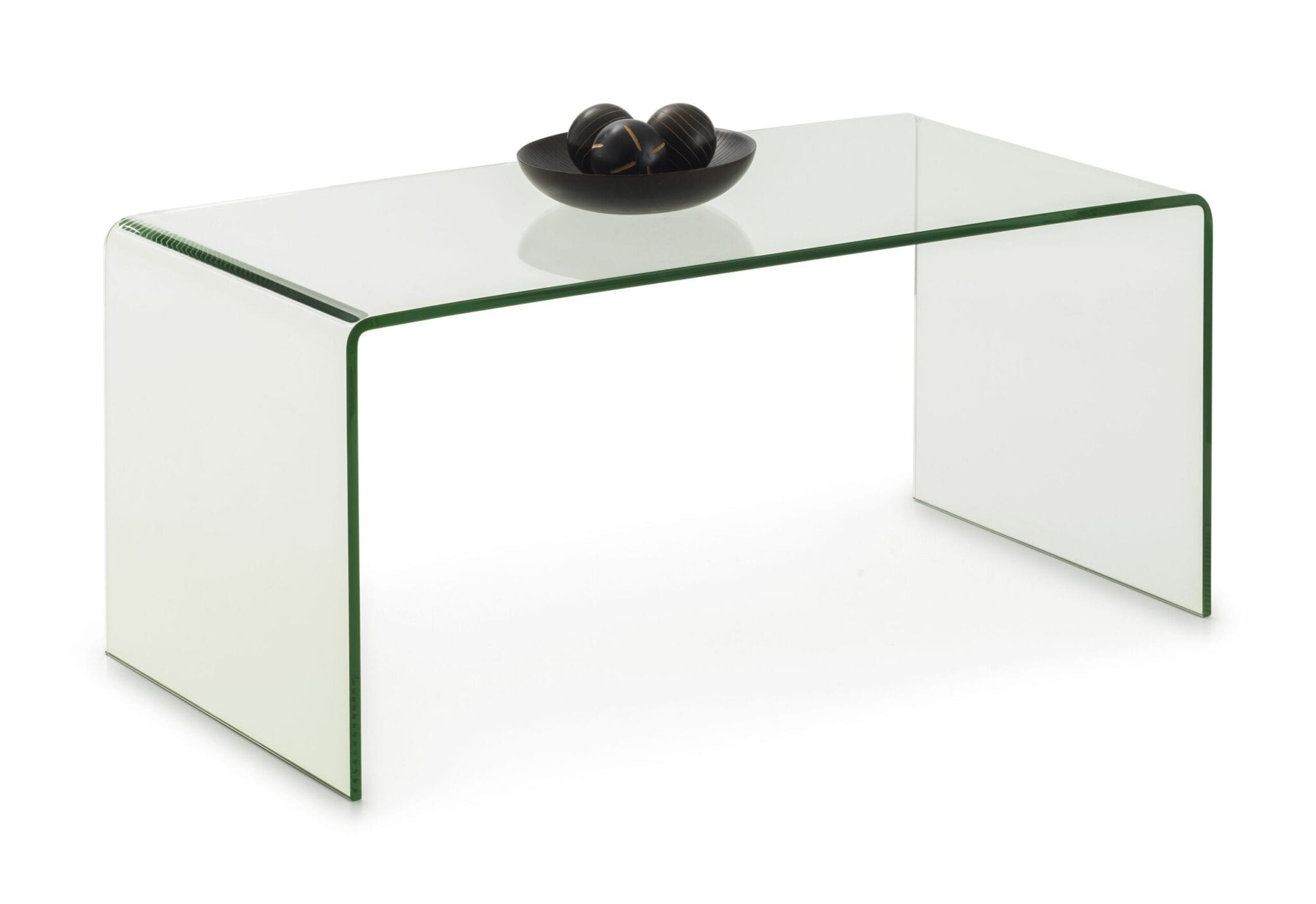 Alsafi Bent Glass Coffee Table