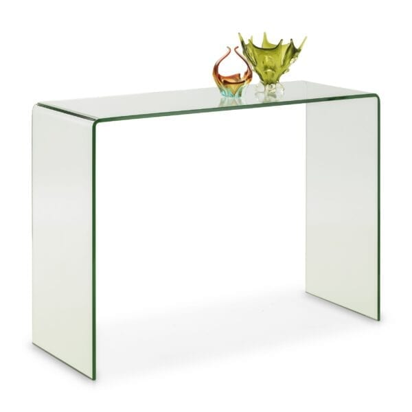 Alsafi Bent Glass Console Table