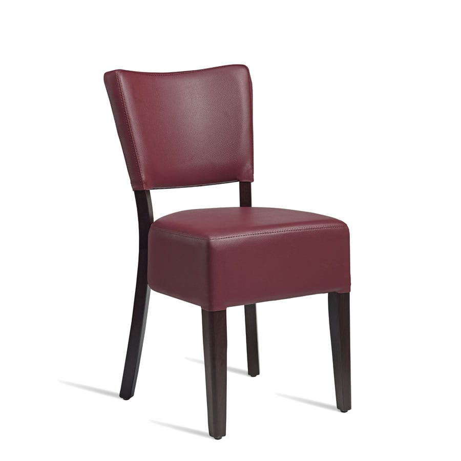 BugeLisside Chair - Wenge - Red