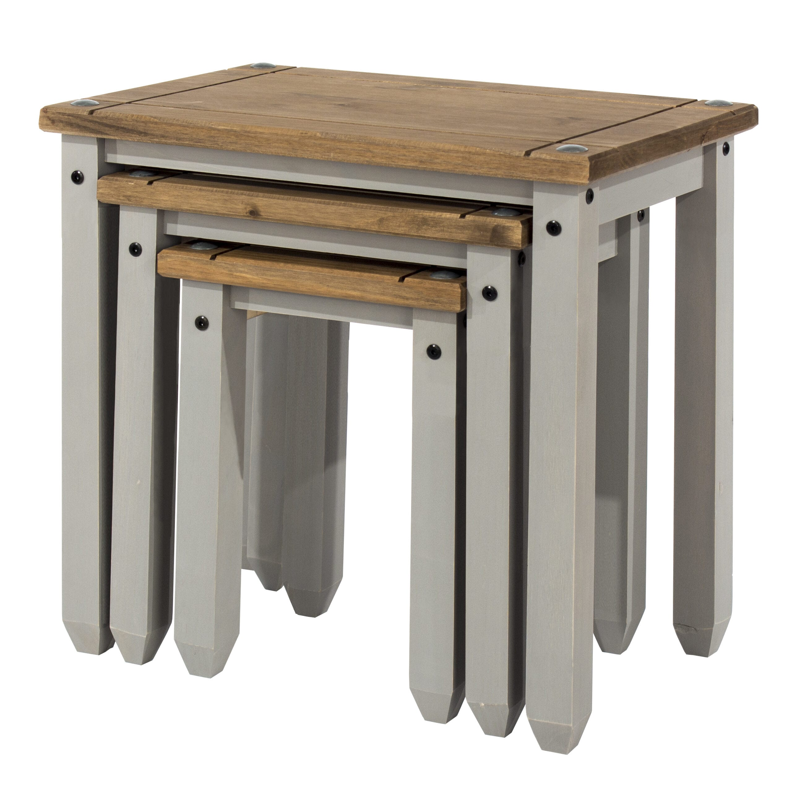 Coson Grey Nest Of Tables