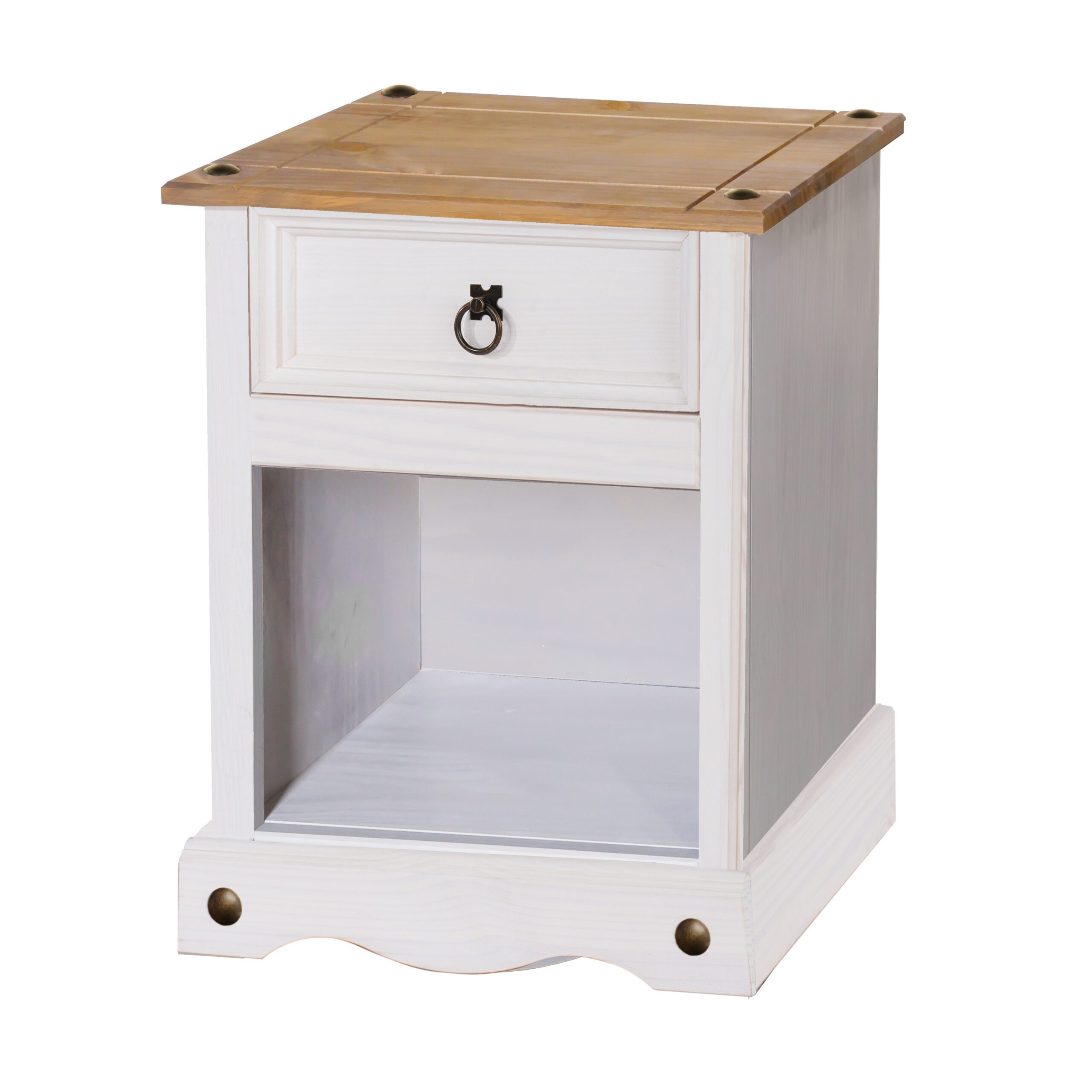 Lavan 1 drawer bedside cabinet (non dovetail drawer)
