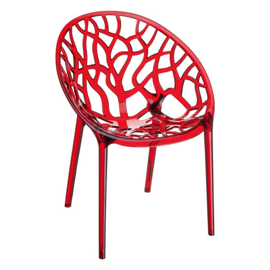 Cryo Chair - Red Transparent