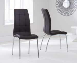 Sydney Dining Chair Brown (Pairs)