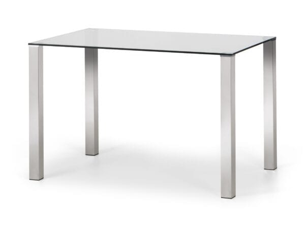 Brie Glass Top Table