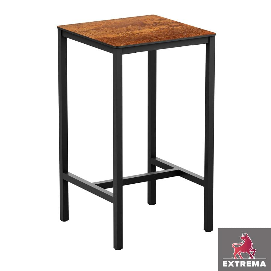 """Erman Copper """"Textured"""" - Full Table - 79x79 - Poseur"""