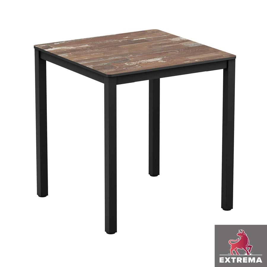 Erman - New Planked Wood - Full Table - 79 x 79 -