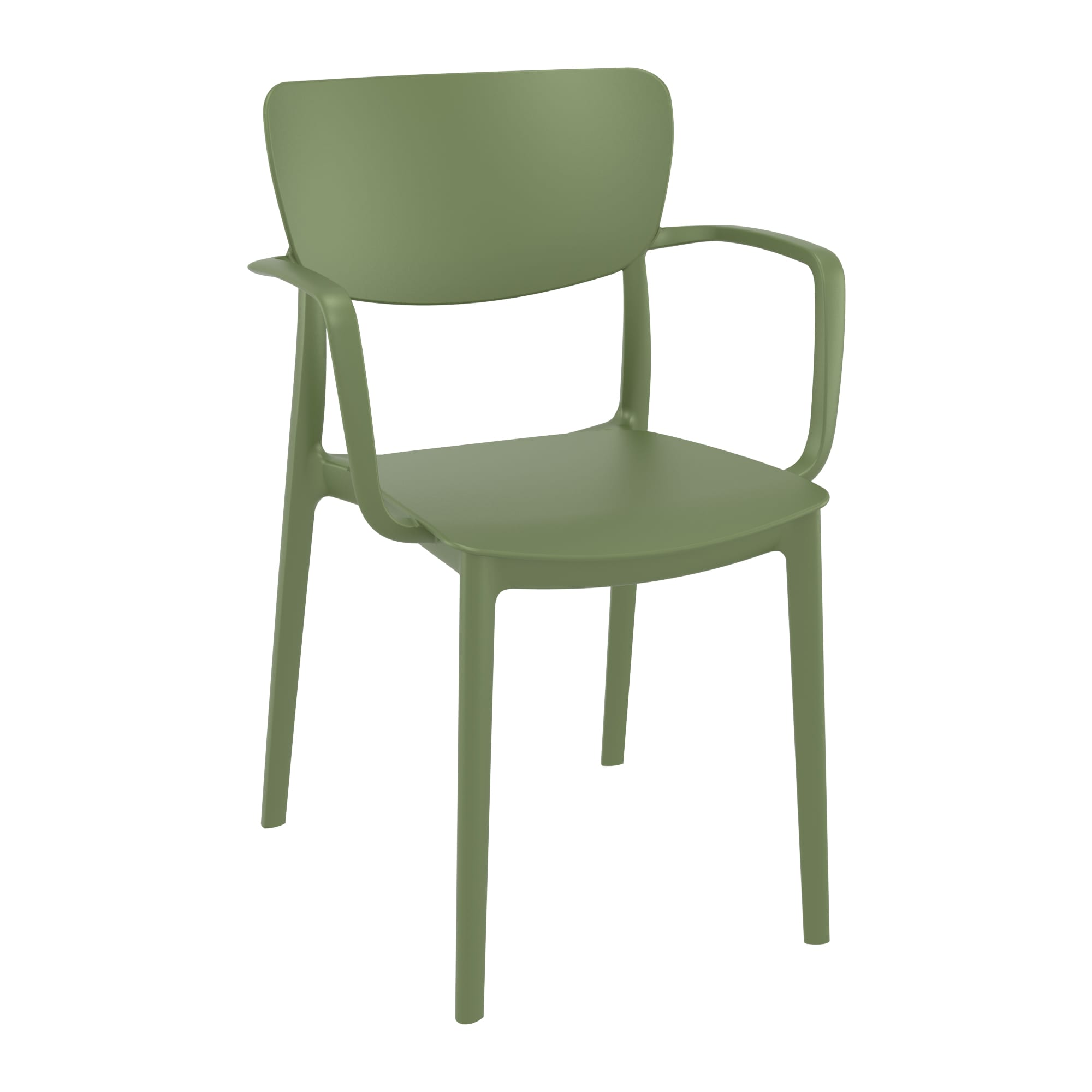 Liss Arm Chair - Olive Green