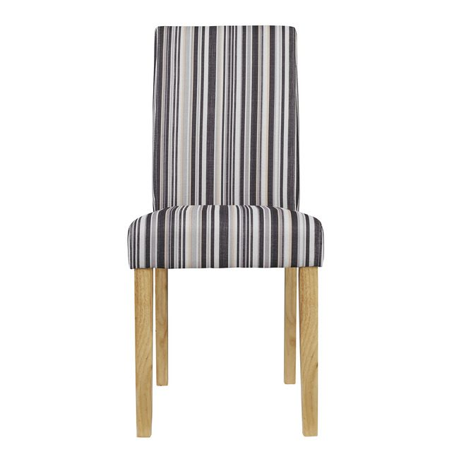 Lewer Dining Chair Striped (Pack of 2)