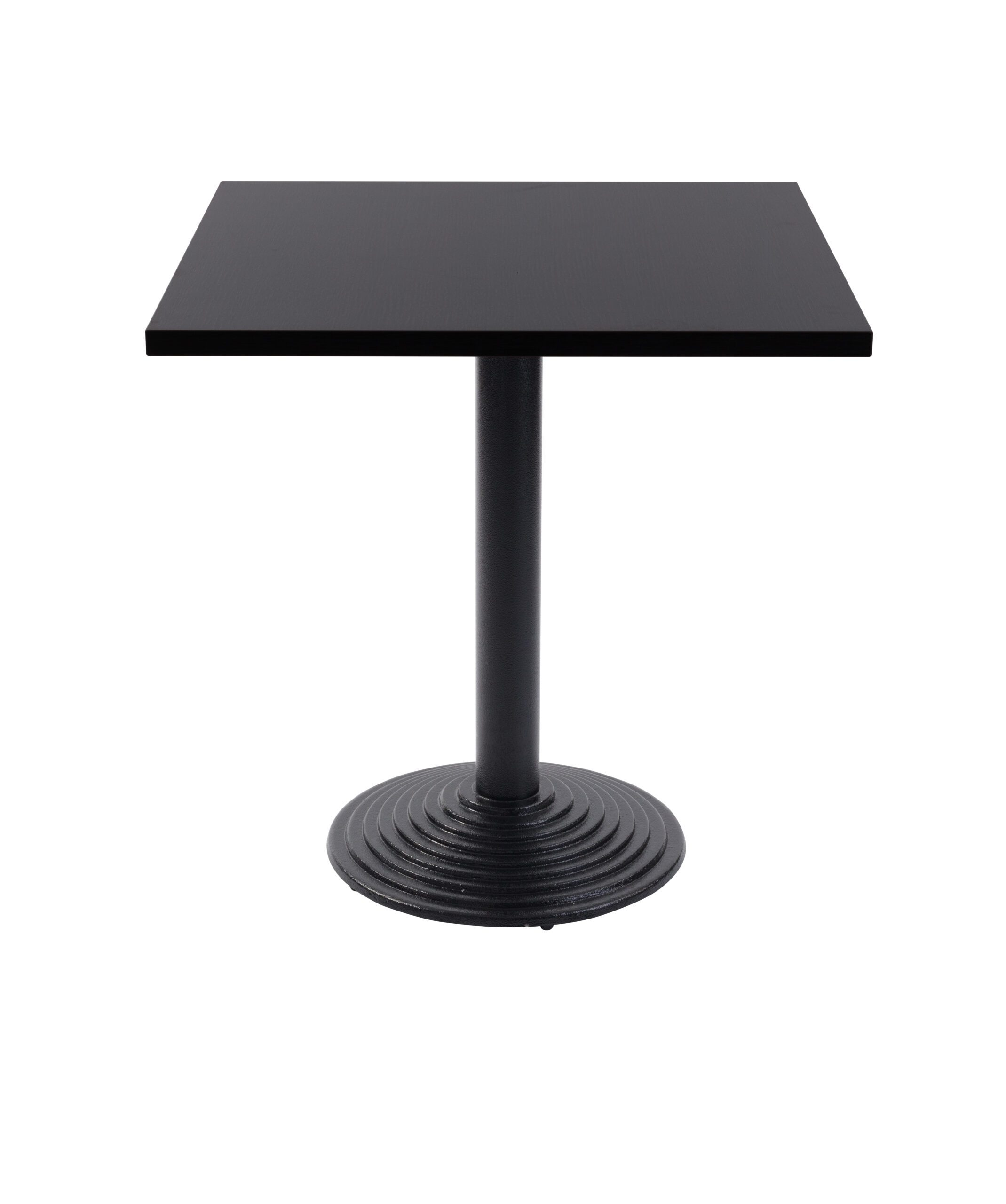 Mayosi Round Coffee Table Base Square Wood Top