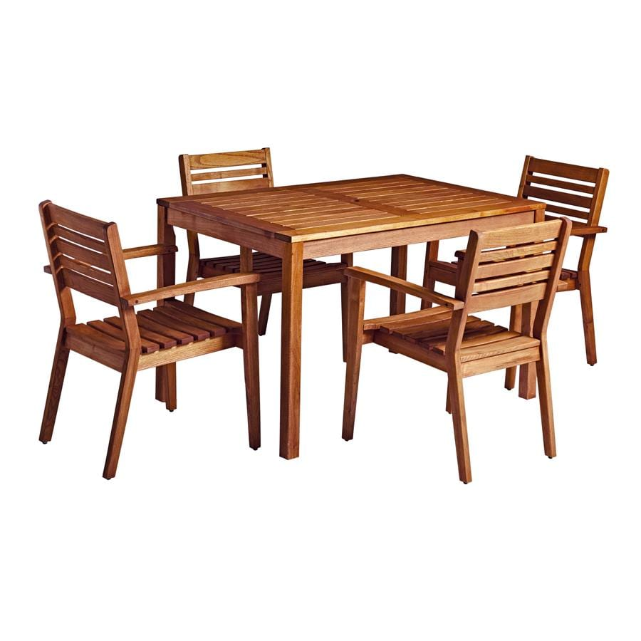 Meer Rectangular Table And Chairs Set