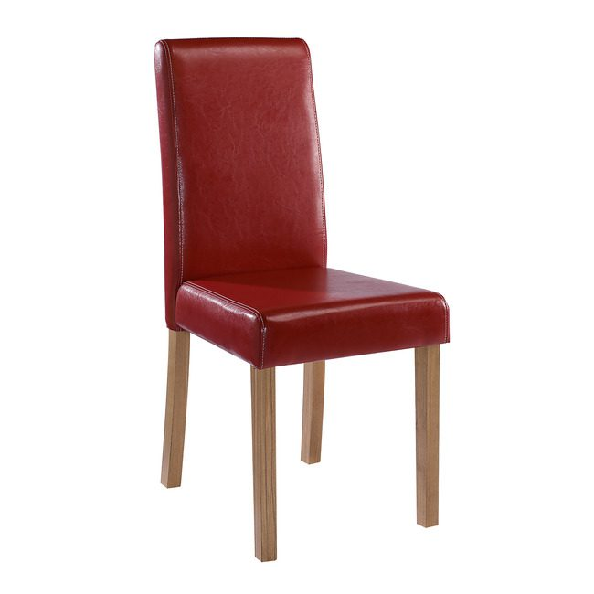 Orly Chair Red (Pack Of 2)