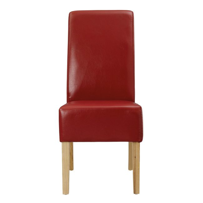 Paddet Chair Red (Pack of 2 )