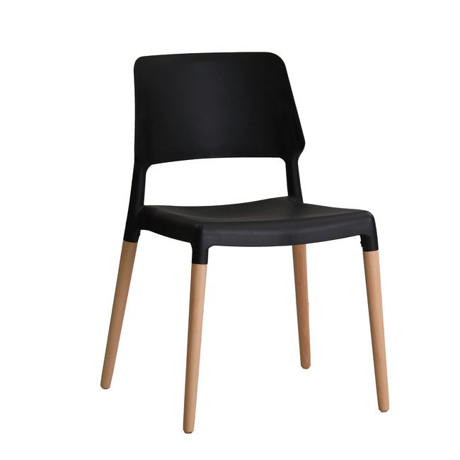 Rovert Chair Black (Pack Of 2)