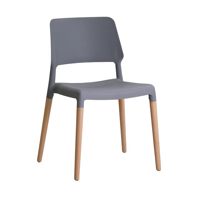 Rovert Chair Grey (Pack Of 2)