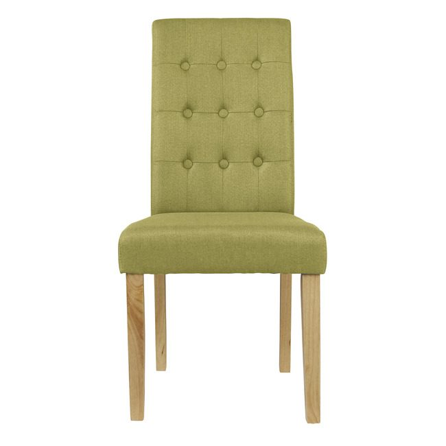 Rewer Chair Green (Pack of 2)