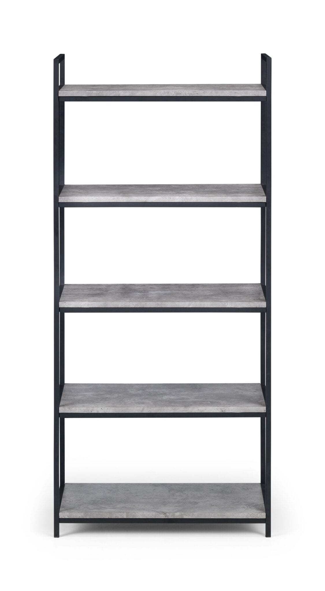 Oyster Tall Concrete Bookcase