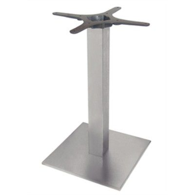 Nali Square Table Base Stainless Steel