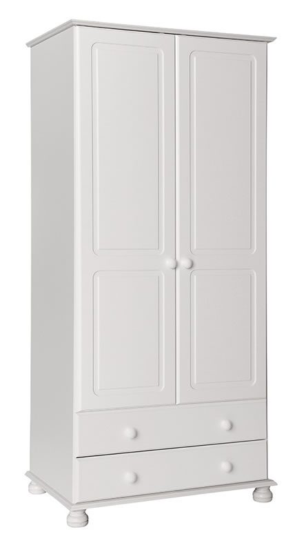Tracy Bedroom Wardrobe - White