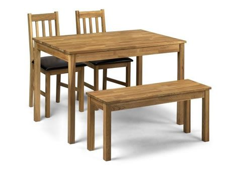 Cox Set Solid Oak Chairs Or Bench Chairs