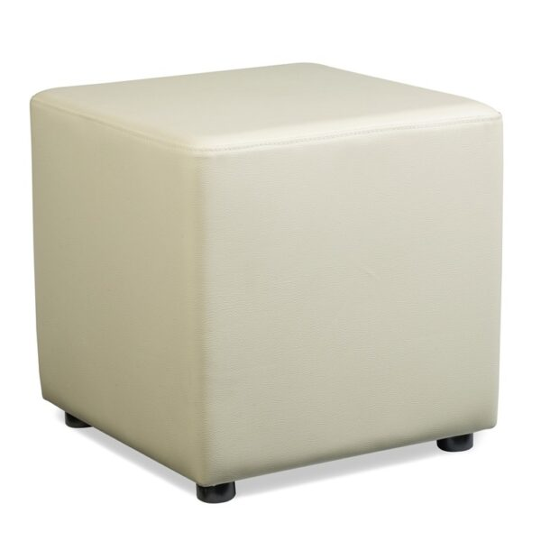 Aubi Cube With Faux Leather - Variety Of Colours