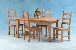 Quazar Table And Four Chairs Set