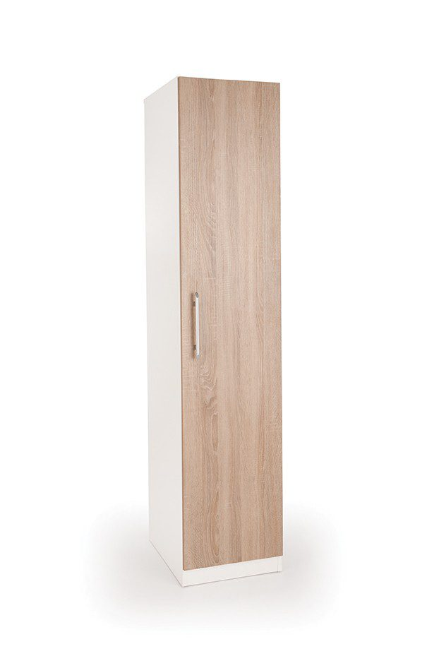 Eitan Quality Bedroom Single Wardrobe - Variety Of Colours