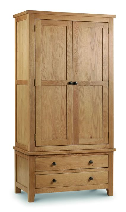 Rachel Wardrobe - Solid Oak