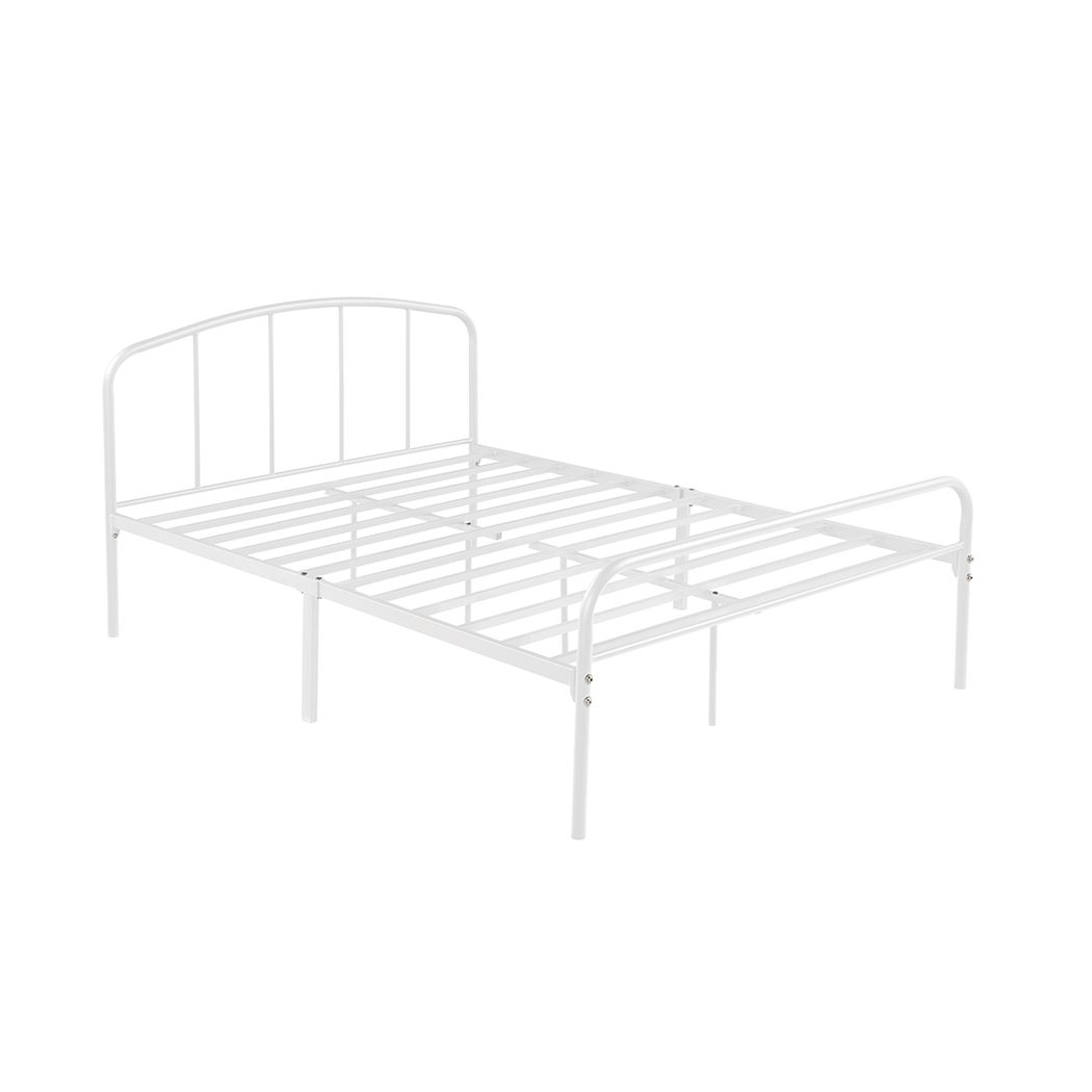 Meredy 4.6 Double Bed White