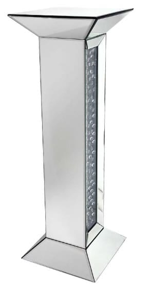 Mamo Mirrored Column Tall Pedestal