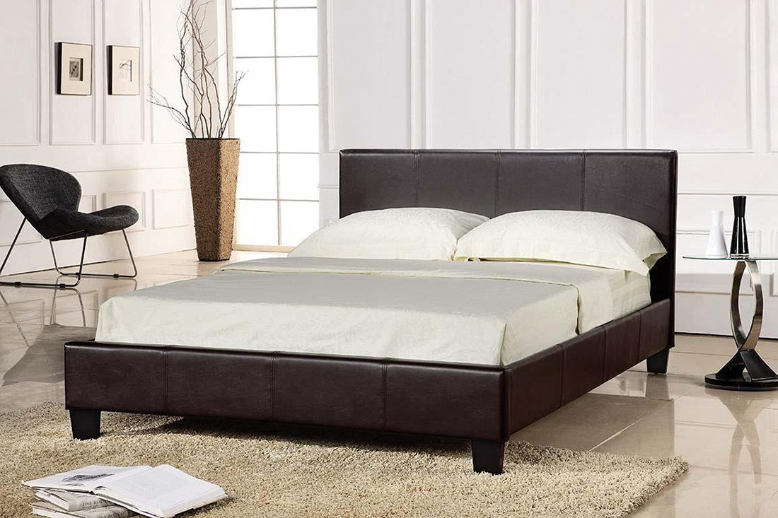 Pusrin 4.6 Double Bed Black