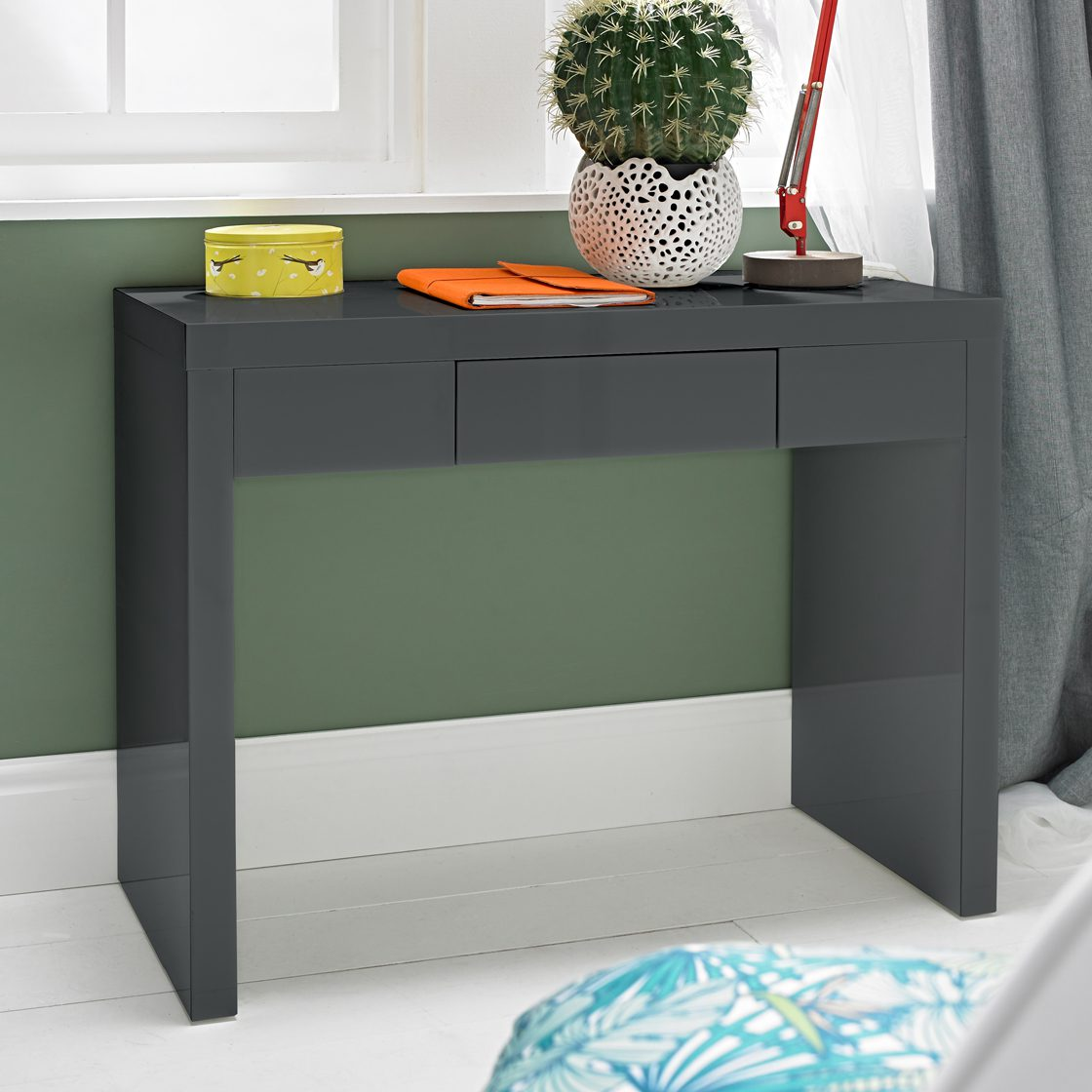 Manny Dressing Table Charcoal