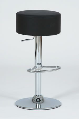 Michelle Bar Stool - Adjustable - Red