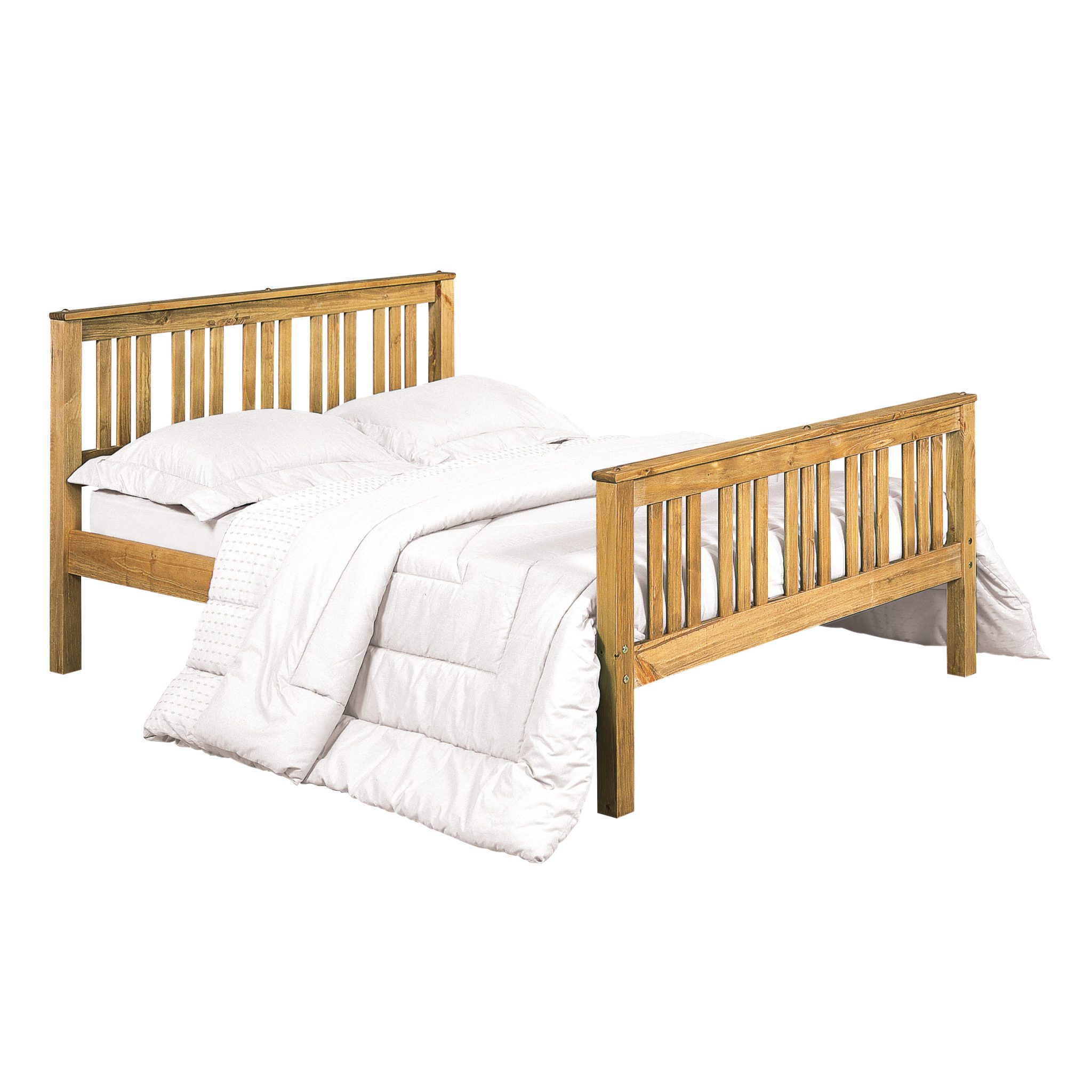 Servin 4.6 Double Bed Pine