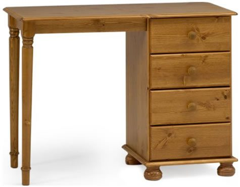 Ontario Pine Dressing Table - 4 Drawer