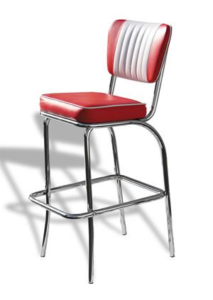 Chicago Bar Stool - Dusty Rose Pink