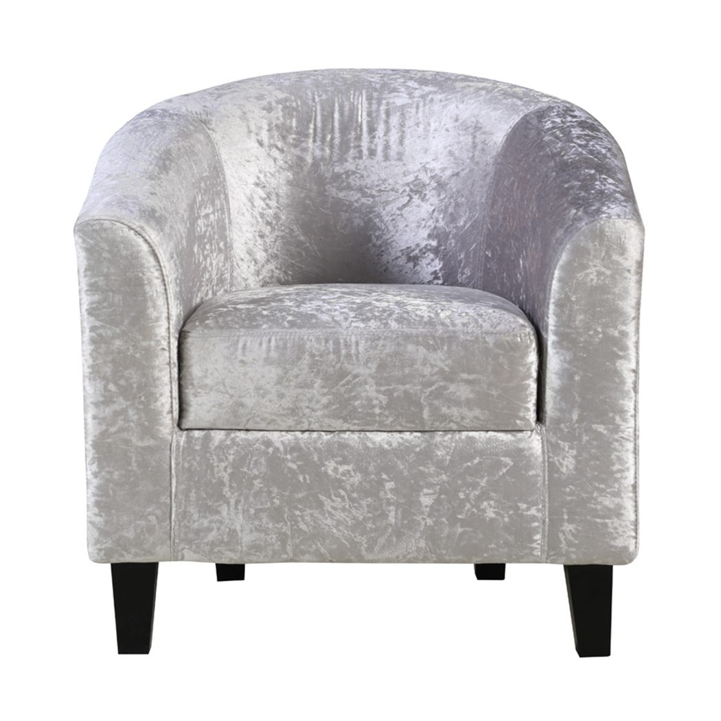 Tanly Chair In Silver