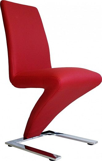 Zorro Z Shaped Chair Red